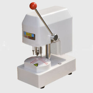 220v Eyeglass Template Drilling Machine Lens Puncher Driller Optical Equipment