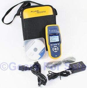 Fluke Networks Aircheck Wifi Wi fi Wireless Performance Tester