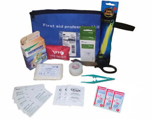 Basic First Aid Kit Professional Home Everyday Emergency Paramedic Surgical Band