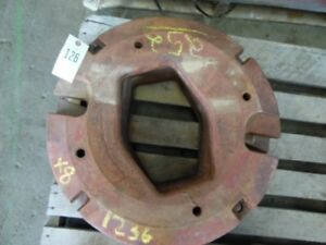 International Harvester Tractor Whole Circle Wheel Weight 125 Lb Tag 126