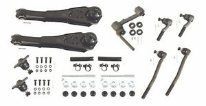 1967 Ford Mustang Deluxe Front Suspension Kit With Power Steering 4 Bolt