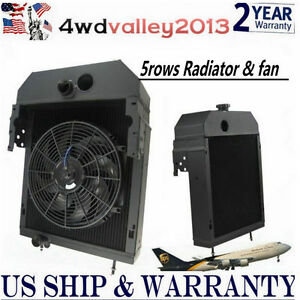 361704r93 For 300 350 Case international farmall Tractor Radiator 14 fan 4wd