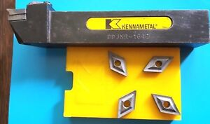 Ddjnr 164d Kennametal Holder 1 Shank 6 L With 4 Inserts