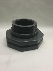 Hayward 4 Pvc Threaded Bulkhead Fitting W Fpm Gasket