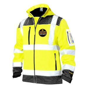 Kwiksafety Galaxy Class 3 Soft Shell Safety Jacket Ansi Compliant Osha