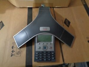 Cisco Cp 7937 Conference Phone With 2x Polycom Microphones