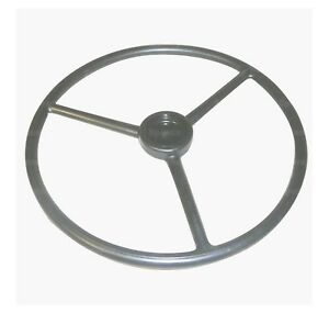 67767 Steering Wheel W o White Oliver Steering Wheel 18 In Dia 36 Spline 11