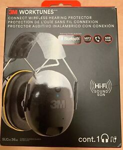 Hearing Protector 3m Worktunes Connect Bluetooth Hi fi Sound Ear Muff Headset