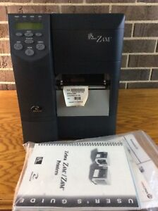 Zebra Z4m Plus Thermal Barcode Label Printer Z4m00 0001 0000 Complete Usa Made
