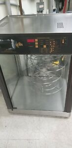 Xl Star Humidity Display Cabinet 4 Tier Pizza Hot Sandwich Food Warmer Holding