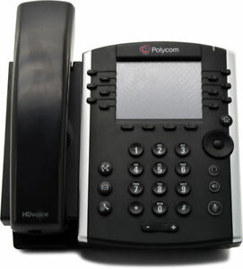 Polycom Vvx 400 Poe Injector 12 line Ip Voip Sip Business Telephone