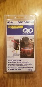 Square D Qo250gfic 50 amp 2 pole 120 240v Ground Fault Circuit Breaker Freeship