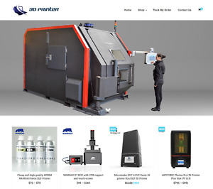 3d Printer Turnkey Website Business For Sale Profitable Dropshipping
