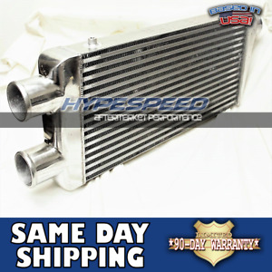 32x12x3 Dual Twin Turbo Intercooler For Sbc Camaro Mustang 300zx 350z Supra V6v8