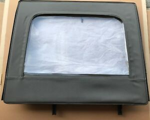Mopar Jeep Wrangler Jku Half Door Upper Windows Khaki Rear Factory Oem 82212133