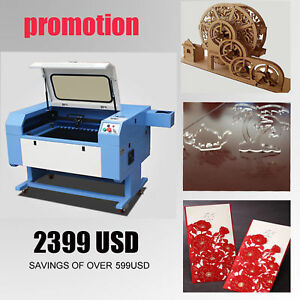 100w New Co2 Laser Enagraver Cutter Laser Machine 600x900 Ce Fda Save Money Hot