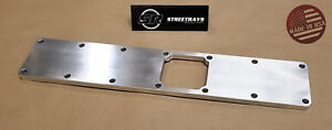 Sr 5 9l Billet Intake Manifold Plenum Top Plate For 12v Ram Cummins Turbo 6bt