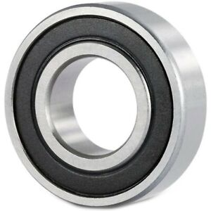 100pc Premium R6 2rs Abec1 Rubber Sealed Deep Groove Ball Bearing 3 8x7 8x9 32