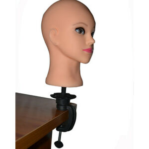 Cosmetology Mannequin Head Wig Holder Stand Desk Table Clamp