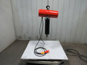 Cm Lodestar Model J 1 2 Ton Electric Chain Hoist 19 Lift 32fpm 115volt 1ph