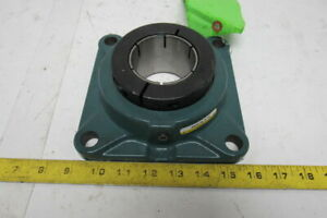 Dodge F4b dl 207 nl 2 7 16 Bore 4 Bolt Flange Mount D lok Bearing