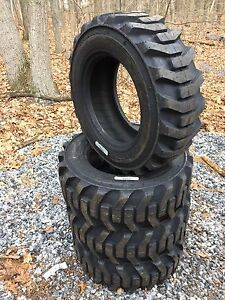 4 New Galaxy Xd2010 10 16 5 Skid Steer Tires For Bobcat Others 10x16 5 10 Ply