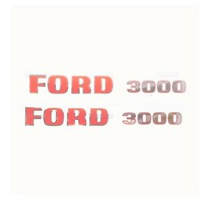 Sparex S 8535 Decal Kit Ford 3000 1965 To Early 1968
