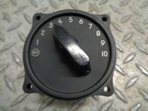 General Electric 9885920 Gr5 Selector Switch 10 Position