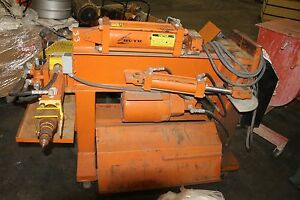 Huth Exhaust Pipe Bender With Dies Lr 33464 1 Model 2100 Loaded