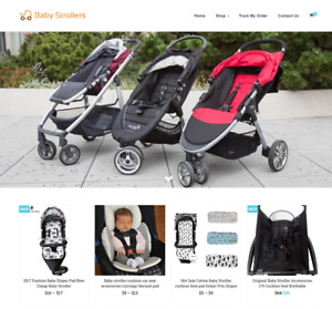 Baby Strollers Turnkey Website Business For Sale Profitable Dropshipping
