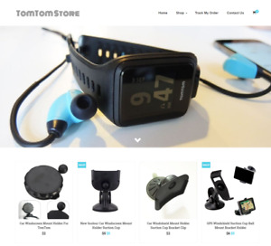 Established Tomtom Turnkey Website Business For Sale Profitable Dropshipping