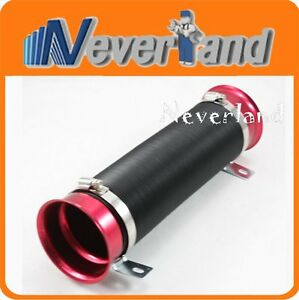 Universal Flexible Cold Turbo Air Duct Intake Inlet Hose Pipe Tube Auto Car Kit