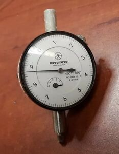 Mitutoyo Dial Thickness Gage 2804 10 Gauge 6 Jewels I00 0500 a07