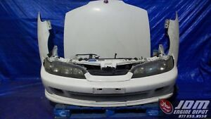 94 01 Honda Integra Dc2 Type R Non hid White Front Nose Conversion Jdm B18c 137