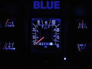 Gauge Cluster Led Dashboard Bulbs Blue For Ford 73 79 F100 F350 Truck
