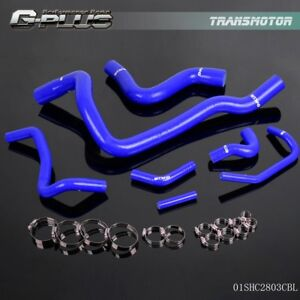 Silicone Radiator Hose For 97 Volvo 850 T 5 98 00 S70 98 04 V70 Blue 7pcs