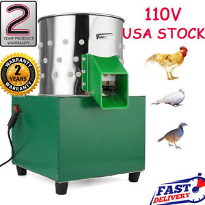 New Mini Chicken Dove Feather Plucking Machine Poultry Plucker Birds Depilator