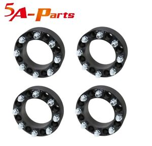 4 Pc 8x6 5 Wheel Spacers 2 9 16 Studs 8 Lug Adapters Dodge Ford