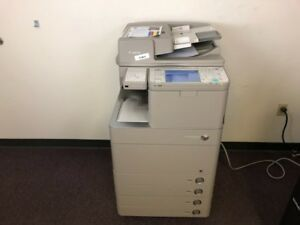 Canon Imagerunner Advance C5255 Color Copier Network Printer Scan Copy Finisher