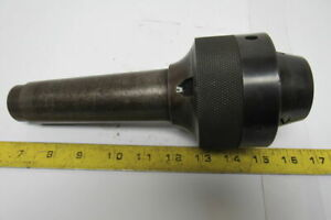 Skinner No 24 5 Morse Taper 11 16 3 Jaw Keyless End Mill Lathe Chuck