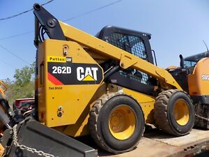2016 Caterpillar 262d Skid Steer Cat Wheel Loader Diesel 200 Hrs Ac