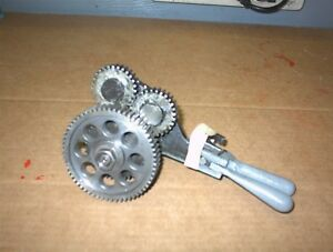 12 Logan Lathe 2500 Series Fwd rev Gear Assembly Metal Working Forward Reverse