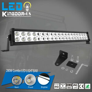 120w 22 Led Work Light Bar Combo Lamp Offroad Driving Lamp Atv Ute Suv 4wd 24