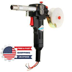 180 A Miller Mig Spool Gun Push Pull Feeder Aluminum Welding Torch Without Cable