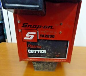 Snap on Ya2230 Plasma Cutter Untested As Is No Returns