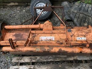 Befco Flail Mower H74 Tractor Pto Driven 3 Pt Hitch Driveshaft End Missing