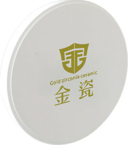 Milling Products Dental Zirconia Ceramic Blocks discs High Strength D98 20mm Ce