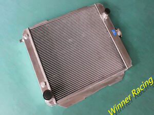56mm Aluminum Radiator For Chevy Impala Biscayne Caprice Bel Air 348 V8 At 1958