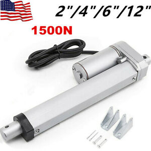 Linear Actuator 12v 4 Sizes Electric Motor 330 Lbs Auto Lift Window Door Opener