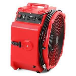 Mounto Ax25 Commerical 4000 Cfm Axial Air Mover Fan Blower